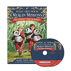 "<font title=""Merlin Mission #20: A Perfect Time for Pandas(Paperback+CD)"">Merlin Mission #20: A Perfect Time for P...</font>"