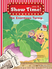 "<font title=""Show Time Level 1 : The enormous turnip (Story Book + MultiRom)"">Show Time Level 1 : The enormous turnip ...</font>"