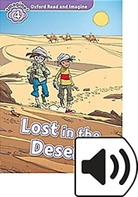 """<font title=""""Oxford Read & Imagine: Level 4 - Lost in the Desert (Paperback with Mp3)"""">Oxford Read & Imagine: Level 4 - Lost in...</font>"""