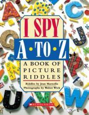 I Spy A To Z (Hardcover)