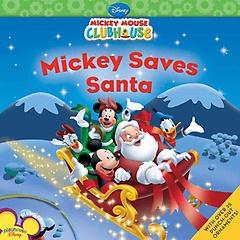 Mickey Saves Santa (Paperback)
