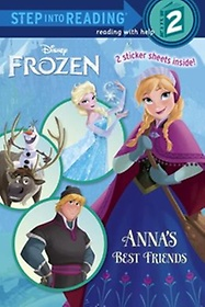 Disney Frozen: Anna's Best Friends - Step into Reading, Step 2 (Paperback)