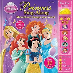 "<font title=""Disney Princess: Voice Changing Microphone Book (Hardcover)"">Disney Princess: Voice Changing Micropho...</font>"