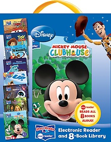 "<font title=""Disney Story Reader: Me Reader and 8 Book Library (Hardcover:8)"">Disney Story Reader: Me Reader and 8 Boo...</font>"