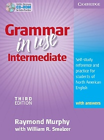 """<font title=""""Grammar in Use Intermediate with Answers and CD-ROM (Paperback+CD-ROM/ 3rd Ed.)"""">Grammar in Use Intermediate with Answers...</font>"""