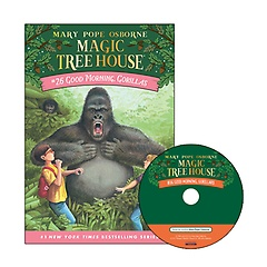 Magic Tree House #26 : Good Morning, Gorillas (Paperback+ CD)