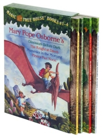 Magic Tree House Boxed Set, Books 1-4 (Paperback:4)