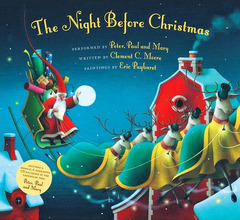 """<font title=""""[노부영] The Night Before Christmas (Hardcover+CD)"""">[노부영] The Night Before Christmas (Har...</font>"""