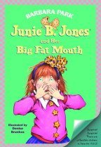 """<font title=""""Junie B. Jones and Her Big Fat Mouth (Prebind / Reprint Edition)"""">Junie B. Jones and Her Big Fat Mouth (Pr...</font>"""