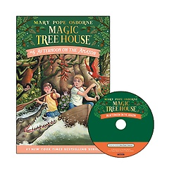 Magic Tree House #06 : Afternoon on the Amazon (Paperback+ CD)