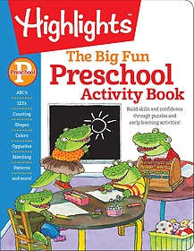 The Big Fun Preschool Activity Book (Paperback)