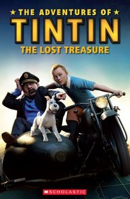 """<font title=""""The Adventures of Tintin: The Lost Treasure (Paperback +Audio CD)"""">The Adventures of Tintin: The Lost Treas...</font>"""