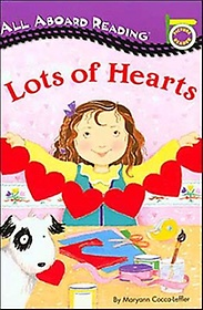 Lots of Hearts: All Aboard Reading Picture Readers (Paperback)