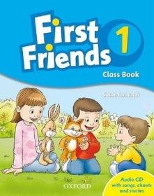 """<font title=""""First Friends 1: Class Book Pack (Paperback+CD)"""">First Friends 1: Class Book Pack (Paperb...</font>"""