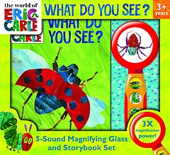 "<font title=""What Do You See?: Magnifying Glass and Storybook Set (Board Book)"">What Do You See?: Magnifying Glass and S...</font>"