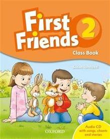 """<font title=""""First Friends 2: Class Book Pack (Paperback+CD)"""">First Friends 2: Class Book Pack (Paperb...</font>"""