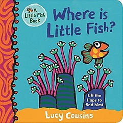 Where Is Little Fish? (Board Book)