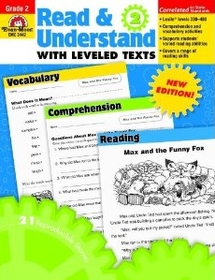 """<font title=""""Read & Understand with Leveled Texts, Grade 2 (Paperback)"""">Read & Understand with Leveled Texts, Gr...</font>"""