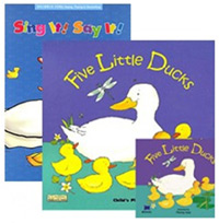 Sing It Say It! 1-3 Set : Five Little Ducks