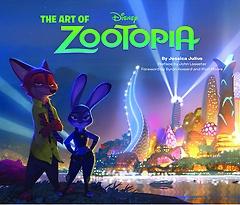 주토피아 아트북 The Art of Zootopia (Hardcover/ 원서)