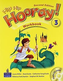"""<font title=""""Hip Hip Hooray 3 : WorkBook (Paperback/ 2nd Ed.)"""">Hip Hip Hooray 3 : WorkBook (Paperback/ ...</font>"""