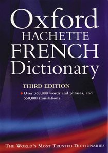 """<font title=""""The Oxford-Hachette French Dictionary (Hardcover / 3rd Ed.)"""">The Oxford-Hachette French Dictionary (H...</font>"""