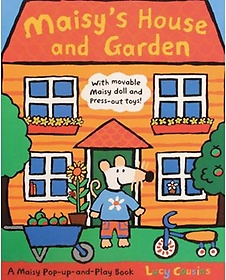 Maisy's House and Garden : A Maisy Pop-up-and-Play Book (Hardcover)