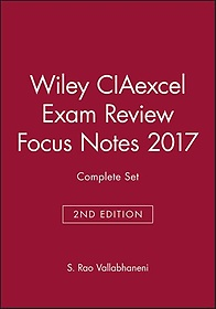 "<font title=""Wiley CIAexcel Exam Review Focus Notes 2017 (Paperback)"">Wiley CIAexcel Exam Review Focus Notes 2...</font>"