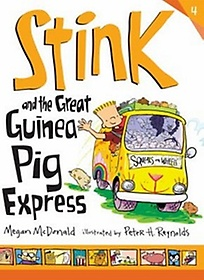 """<font title=""""Stink and the Great Guinea Pig Express (Paperback/ Reprint Edition)"""">Stink and the Great Guinea Pig Express (...</font>"""