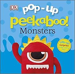 Pop Up Peekaboo! Monsters (Board book)