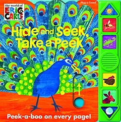 """<font title=""""The World of Eric Carle: Hide and Seek, Take a Peek (Hardcover)"""">The World of Eric Carle: Hide and Seek, ...</font>"""