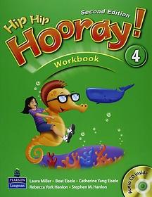"""<font title=""""Hip Hip Hooray 4 : WorkBook (Paperback/ 2nd Ed.)"""">Hip Hip Hooray 4 : WorkBook (Paperback/ ...</font>"""