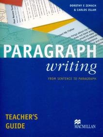 "<font title=""Paragraph Writing - Teacher"