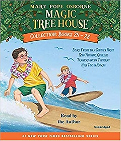 "<font title=""Magic Tree House CD Collection #25-28 (Audio CD/ Unabridged Ed./ 도서별매)"">Magic Tree House CD Collection #25-28 (A...</font>"
