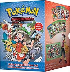 "<font title=""Pokemon Adventures Ruby & Sapphire Box Set (Paperback)"">Pokemon Adventures Ruby & Sapphire Box S...</font>"