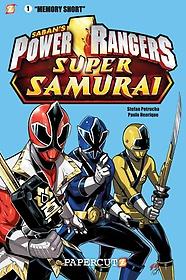 """<font title=""""Power Rangers Super Samurai Graphic Novels 1 (Hardcover)"""">Power Rangers Super Samurai Graphic Nove...</font>"""