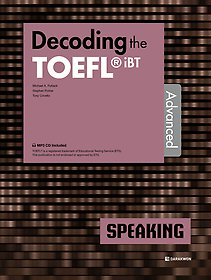 "<font title=""Decoding the TOEFL iBT SPEAKING Advanced"">Decoding the TOEFL iBT SPEAKING Advanc...</font>"