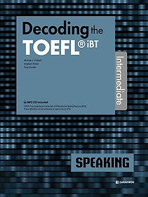 "<font title=""Decoding the TOEFL iBT SPEAKING Intermediate"">Decoding the TOEFL iBT SPEAKING Interm...</font>"