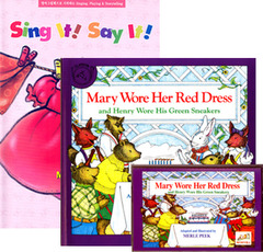 Sing It Say It! 1-7 Set : Mary Wore Her Red Dress