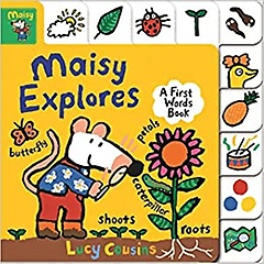 """<font title=""""Maisy Explores: A First Words Book (Board book)"""">Maisy Explores: A First Words Book (Boar...</font>"""