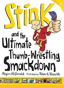 """<font title=""""Stink and the Ultimate Thumb-Wrestling Smackdown (Paperback/ Reprint Edition)"""">Stink and the Ultimate Thumb-Wrestling S...</font>"""