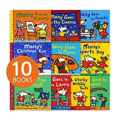 """<font title=""""Maisy First Experiences Pack set(Paperback:10/ 영국판)"""">Maisy First Experiences Pack set(Paperba...</font>"""