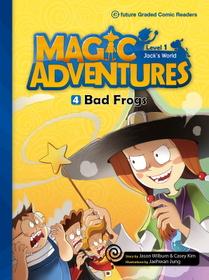 "<font title=""Magic Adventures 1-4 Bad Frogs : Story Book 분권 + Audio CD:1 (Paperback)"">Magic Adventures 1-4 Bad Frogs : Story B...</font>"