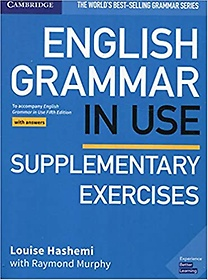"""<font title=""""English Grammar in Use Supplementary Exercises Book with Answers : To Accompany English Grammar in Use 5E (Paperback)"""">English Grammar in Use Supplementary Exe...</font>"""
