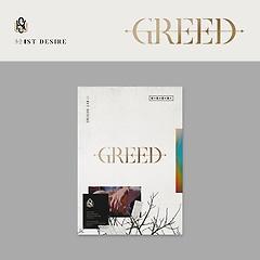 김우석 - 1ST DESIRE [GREED] [1st Solo Album][W ver.]