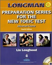"""<font title=""""Longman Preparation Series for the New TOEIC Test Advanced Course - Student Book with Answer Key (Paperback+ CD)"""">Longman Preparation Series for the New T...</font>"""