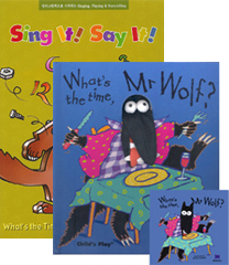 Sing It Say It! 1-9 Set : What's the Time, Mr Wolf?