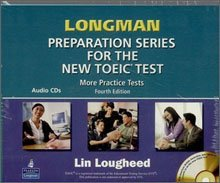 """<font title=""""Longman Preparation Series for the New TOEIC Test, More Practice Tests - Audio CD (7 CDs Only/ 교재별매)"""">Longman Preparation Series for the New T...</font>"""