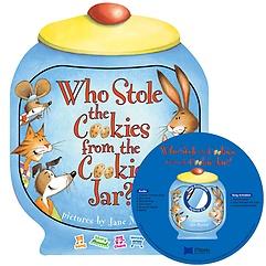 노부영 송 애니메이션 세이펜 Who Stole the Cookies from the Cookie Jar? (BoardBook + Hybrid CD)