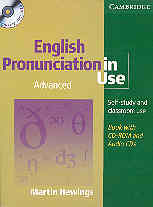 """<font title=""""English Pronunciation in Use : Advanced Book with Answers (Paperback + CD-Rom + Audio CD)"""">English Pronunciation in Use : Advanced ...</font>"""